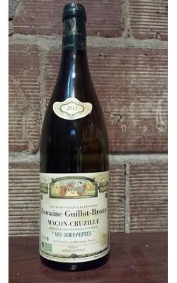 """2012 Domain Guillot-Broux Macon-Cruzille """"Les Geniévriéres"""""""