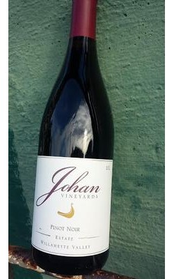 2012 Johan Vineyards Estate Pinot Noir